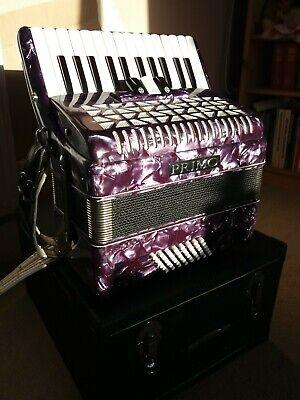 Primo Piano Accordion 48 Bass Italian Made With Hard Case