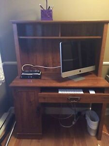 Computer desk .