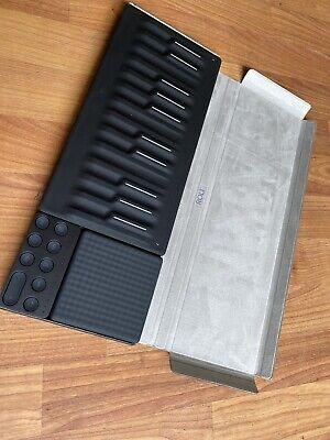 Roli Songmaker KitSeaboard Block, Lightpad M, and Loop Block with a Snap case