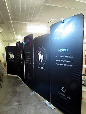 Displayit 10x20 Elements-line Flat Trade Show Display Booth More