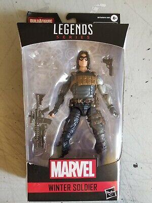 Marvel Legends CRIMSON DYNAMO WAVE NO BAF WINTER SOLDIER IN ORIG BOX BLACK WIDOW