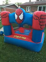 Spider man jeu gonflable bouncy game for sale 100$ neg