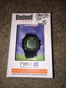Bushnell Neo XS  GPS golf watch *like new*