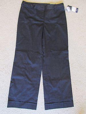 Neuer Frauen Reitmans Schwarzes Kleid Hose /Hosen Weiß Nadelstreifen Größe 10 ()