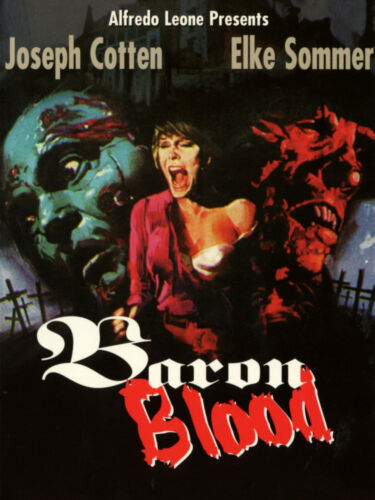 BARON BLOOD -1972-ENG 16MM PRINT COLOR