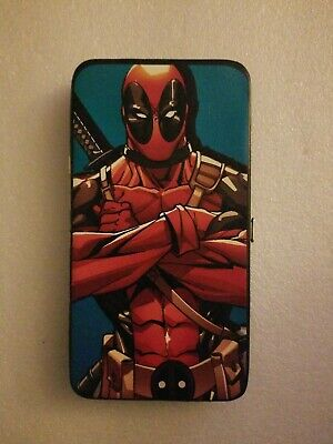NWT Marvel Comics DEADPOOL Hinged Wallet slim clutch by Buckle Down Products
