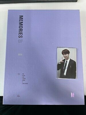 BTS Bangtan Boys Memories Of 2018 DVD Full Package Opened with SUGA Photo card