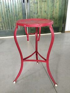 Antique stool or wash stand -very unique!