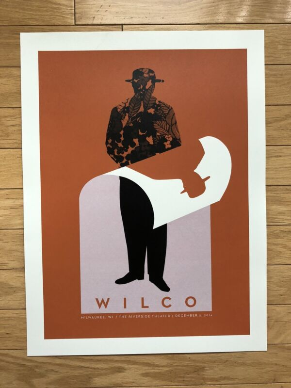 Wilco Official Screenprint Concert Poster