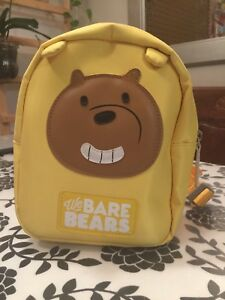Small children's backpack (we bare bears)