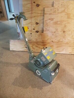 2016 Hummel Lagler 8 Floor Sander Works Great Belt Sand Flooring