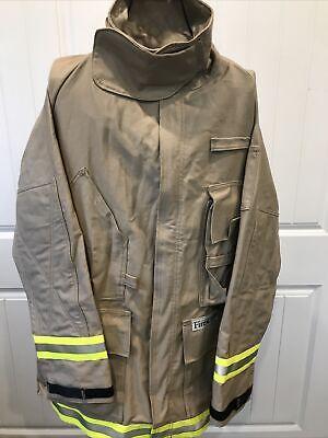 Fire-dex Tan Structural Turnout Coat Fire Jacket