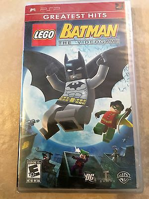 Lego Batman  The Videogame  Sony Psp  2008  Greatest Hits Psp New