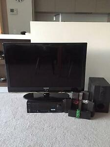 """Samsung 42"""" TV and Kenwood surround sound system package with Sub Darlinghurst Inner Sydney Preview"""