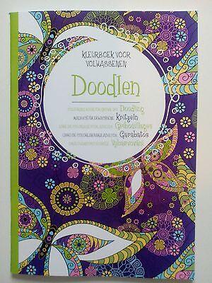 Mandala Kritzeln - Malbuch für Erwachsene - 47 Bilder