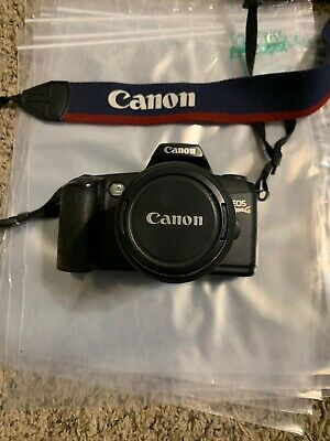 Canon Rebel EOS G 35mm Film Camera with 35-80mm zoom Lens Ex Ships Free