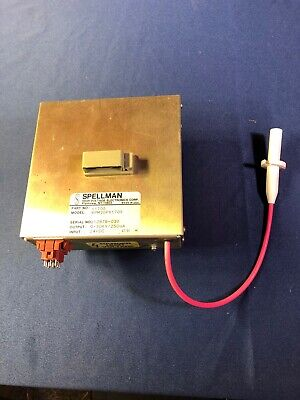 Spellman Epm30px1705 High-voltage Power Supply -30kv 250 Ua Hv