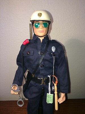 GIjOE Action Joe State Trooper Tickets Badge Whistle Sunglasses Cuffs (Toys Sunglasses)
