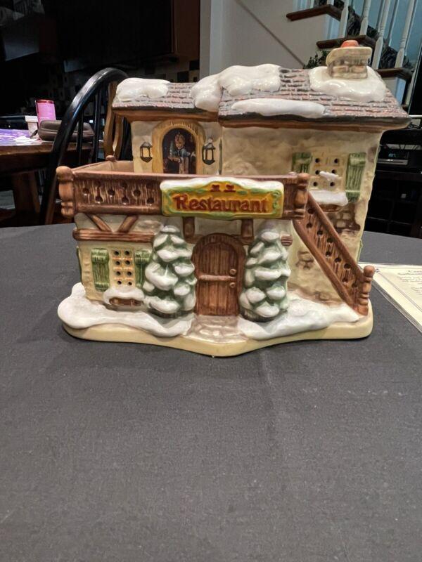 "Hawthorne M.J. Hummel Christmas Village ""Winter Comfort"""