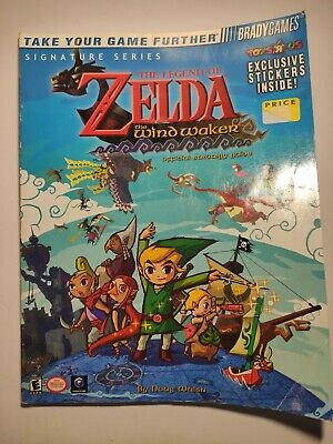 The Legend of Zelda : The Wind Waker with Stickers.