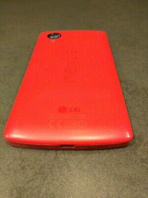 16GB LG Google Nexus 5 Bright Red D820 Factory Unlocked