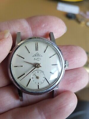 Vintage Men's BRAX watch 1950/60's - Automatic - Working - No strap