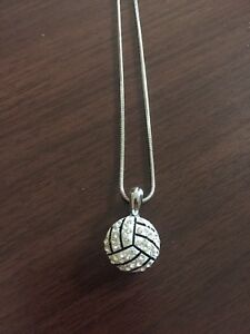 Volleyball necklace purchased in Calgary