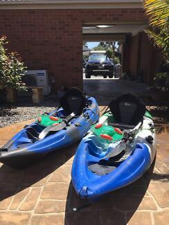 2 x Fishing Kayaks $525 for both.