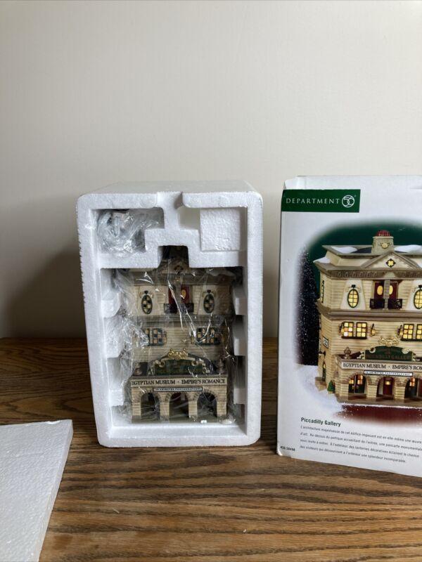 Dept 56 Dickens Village - Piccadilly Gallery #58498 - W/Original Box