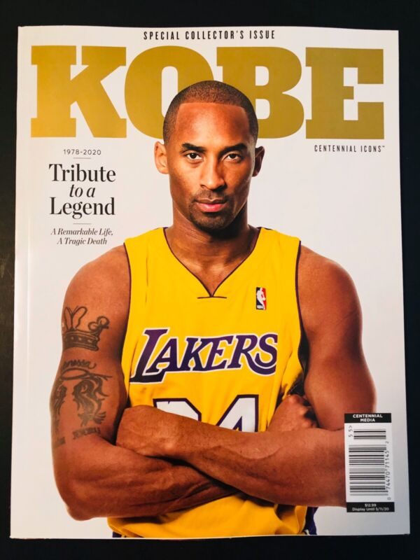 KOBE BRYANT Centennial Icons Special Collector