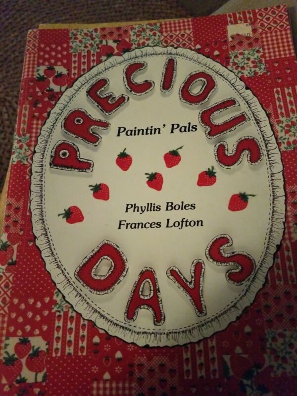 DECORATIVE TOLE PAINTING PATTERN BOOK  PRECIOUS DAYS