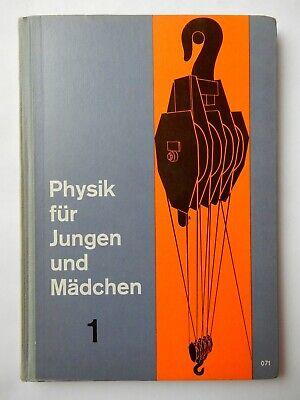Physik 1 für Jungen und Mädchen  älteres Buch 150
