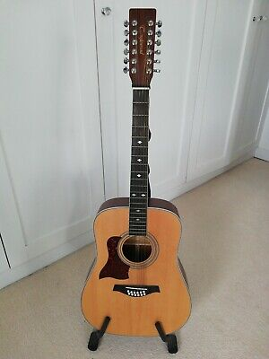 Tanglewood Left Hand 12 String Acoustic Guitar
