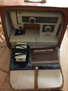 Omega sewing machine.!!! Exc. cond.  ready for any sewing..,!
