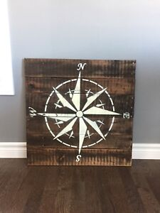 Wall hanging - Compass