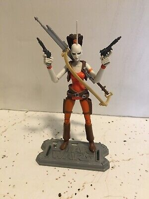 Star Wars The Clone Wars Aurra Sing CW11 3.75 Inch