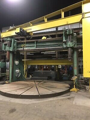 Birdsboro Vertical Boring Extension Mill 1824 With 16 Turn Table