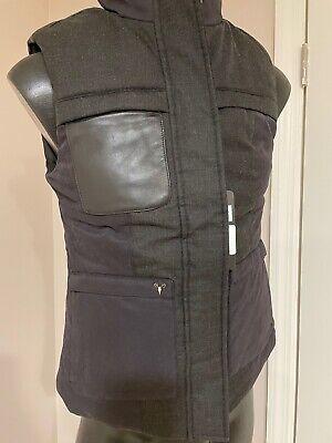 NWT Nobis Elora Black Ladies Vest Size Small