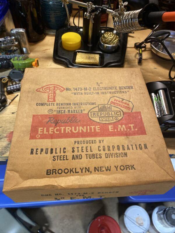 """Vintage 3/4"""" EMT Pipe Bender"""
