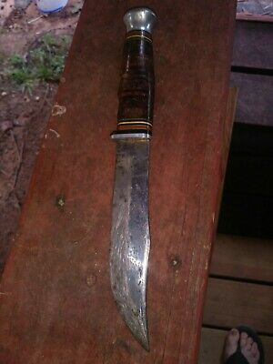 Vintage Shapleigh's St. Louis Mo. Fixed Blade Hunting Knife