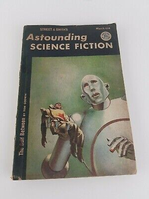 QUEEN : News Of The World Artwork Astounding Science Fiction 1954 Magazine Book