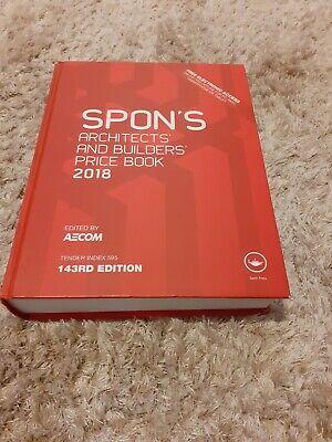 Spons price book 2018