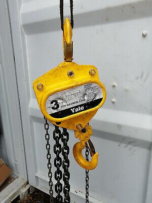 Yale - Sha 3-ton Shop King Hand Chain Hoist With 10-ft Of Lift