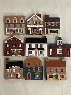 cats meow village lot of 15