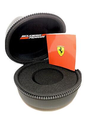 Genuine Scuderia Ferrari Watch Box Only-Black-Round Brand New- UK SELLER-