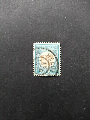 Netherlands - Postage due 1881 - 1 gld - P12D (type I) - very fine used stamp