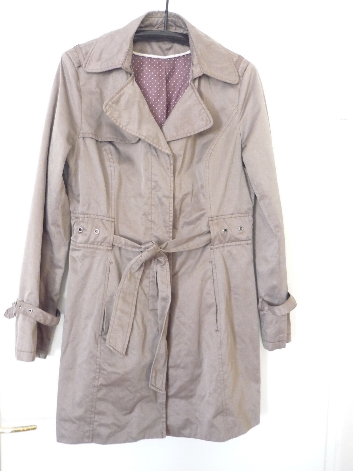 791a5a1ca748 ... ONLY Damen Mantel Jacke onlNEW WITHNESS TRENCHCOAT Kurzmantel Übergang  Sommer, orsay Damen Sommer Trenchcoat Mantel Kurzmantel taupe Gr. 38 40 -  TOP!