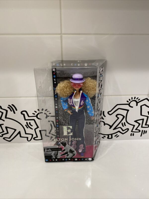 🔥ELTON JOHN BARBIE DOLL - LIMITED EDITION  -  NEW In Hand - With Certificate