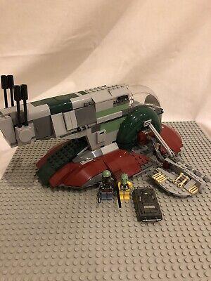 LEGO Star Wars Slave I Set (8097) No Box No Instructions Comes As Shown