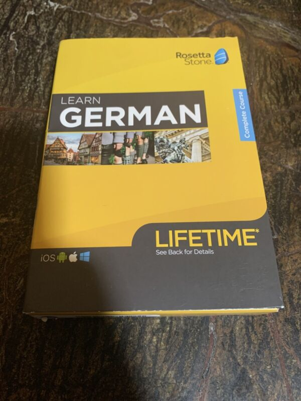 Rosetta Stone - Learn UNLIMITED Languages with Lifetime access - German - And...